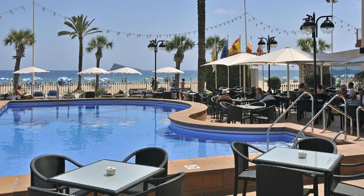 Sol costablanca hotel in benidorm spain holidays from 460pp loveholidays for Swimming pool repairs costa blanca