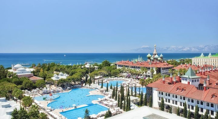 Wow Topkapi Palace Hotel in Lara Beach, Antalya, Turkey