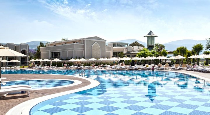 Aurum Spa And Beach Resort in Didim, Aegean Coast, Turkey