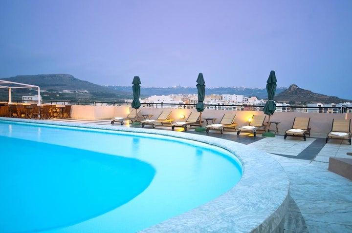 Calypso Hotel in Marsalforn, Gozo, Malta