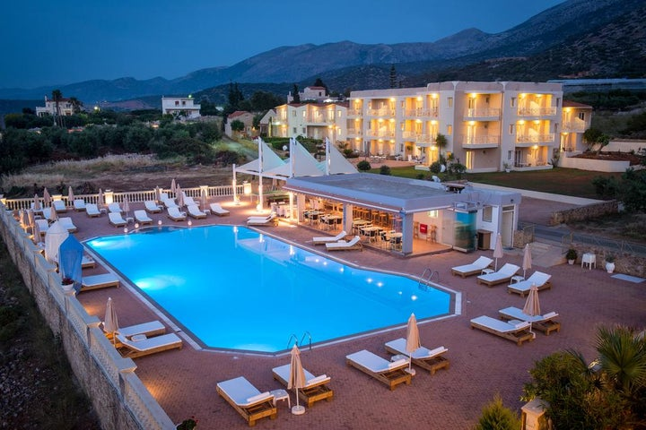 Notos Heights Hotel & Suites in Malia, Crete, Greek Islands