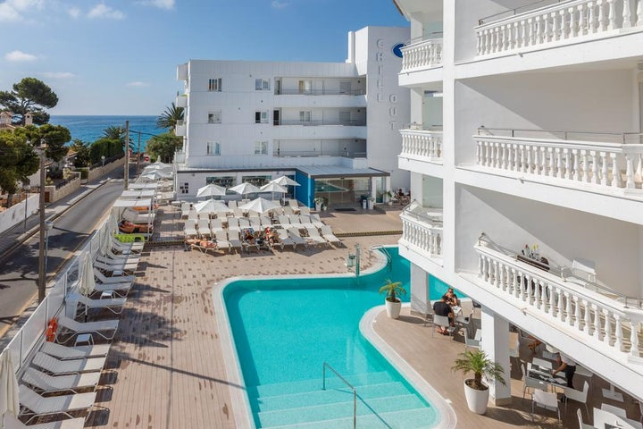Sensity Chillout Hotel Triton Beach in Cala Ratjada, Majorca, Balearic Islands