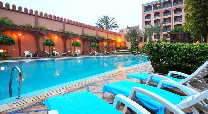 Diwane Hotel in Marrakech, Morocco