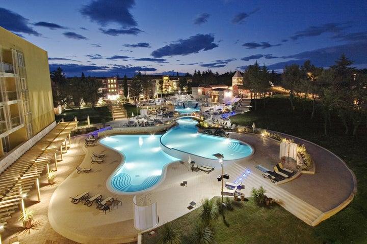 Sol Garden Istra Hotel in Umag, Istrian Riviera, Croatia