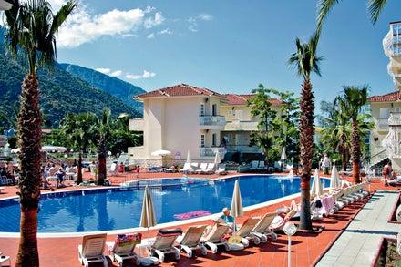 Blue Lagoon Hotel in Olu Deniz, Dalaman, Turkey