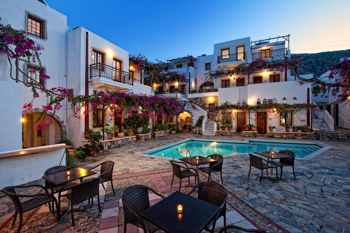 Villa Diktynna in Koutouloufari, Crete, Greek Islands