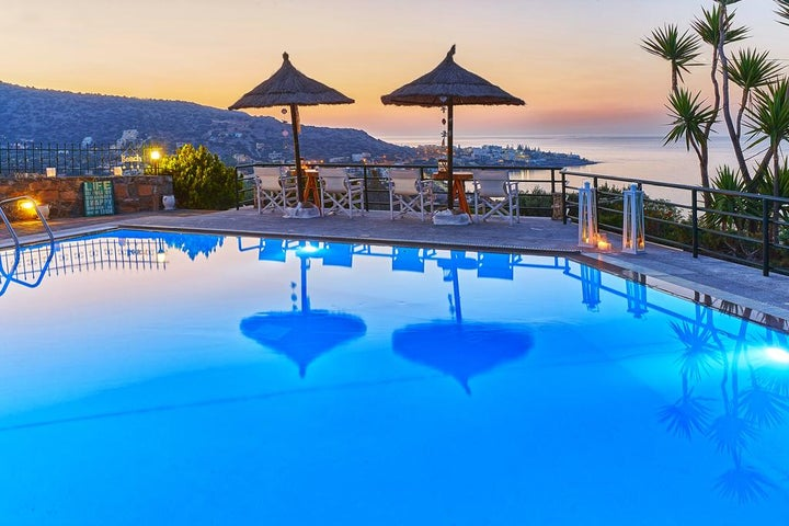 Everest Apartments in Stalis, Crete, Greek Islands
