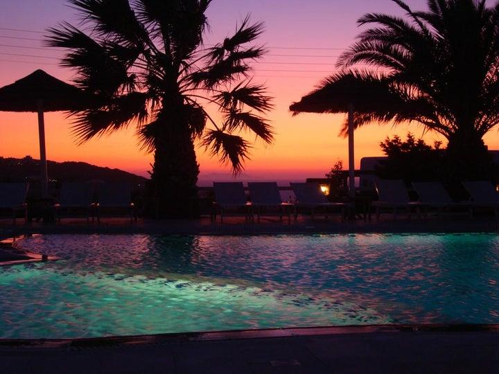 Giannoulaki Hotel in Glastros, Mykonos, Greek Islands