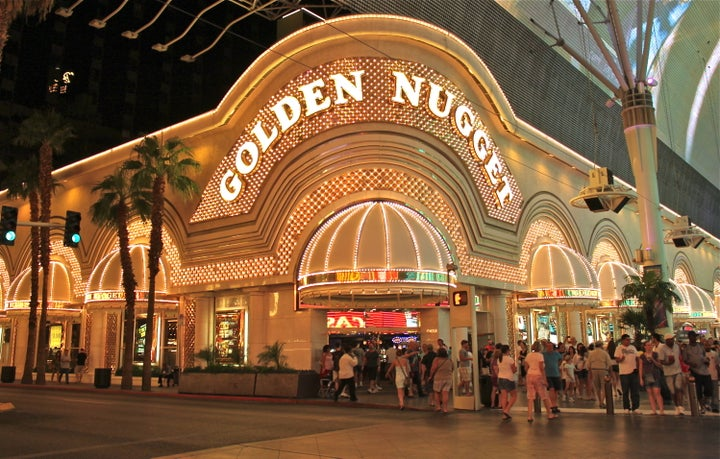 Golden Nugget Hotel in Las Vegas, Nevada, USA