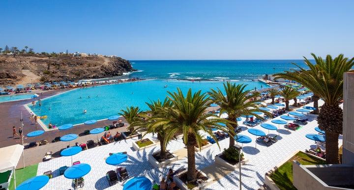 Alborada Beach Club In Costa Del Silencio Tenerife Canary Islands