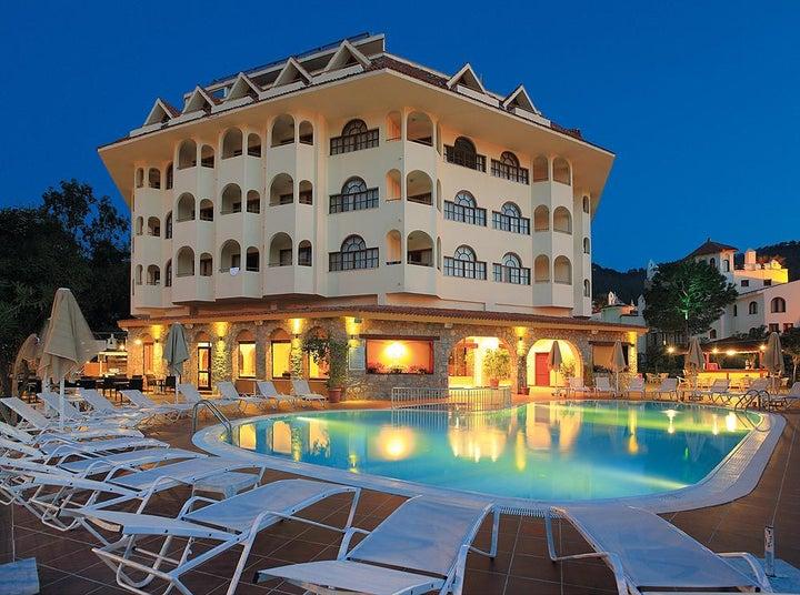 Fortuna Beach Hotel in Icmeler, Dalaman, Turkey