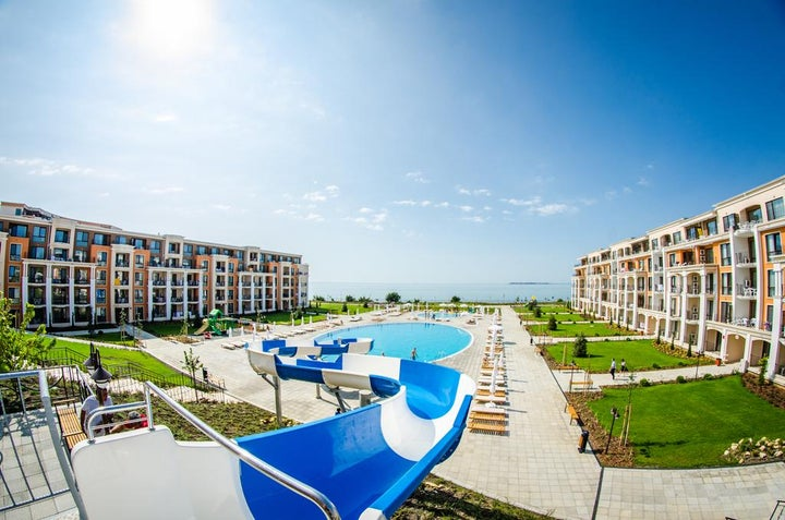 Premier Fort Beach in Sveti Vlas, Bulgaria