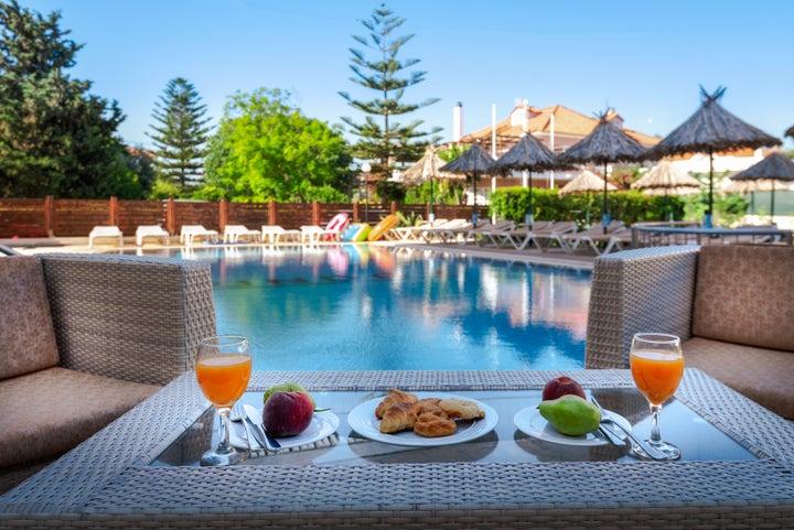 Sunday Hotel in Ialyssos, Rhodes, Greek Islands