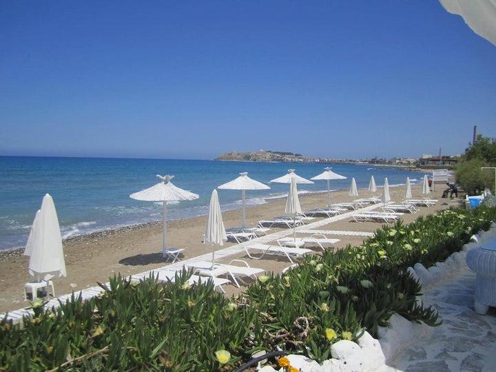 Petradi Beach Lounge Hotel in Rethymnon, Crete, Greek Islands