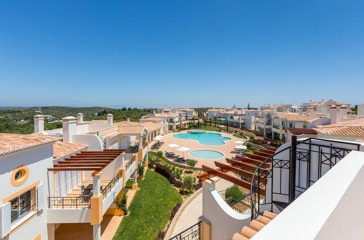 Salema Beach Village in Lagos, Algarve, Portugal