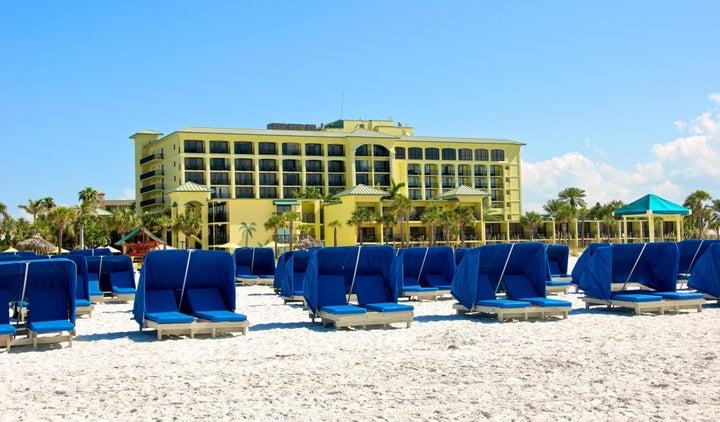 Sirata Beach Resort in St Pete Beach, Florida, USA