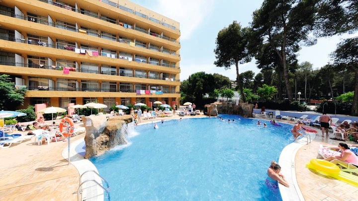Med Playa Hotel Calypso in Salou, Costa Dorada, Spain