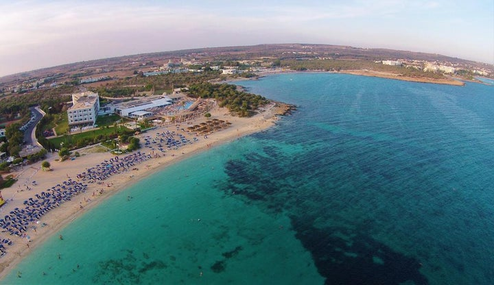 Asterias Beach in Ayia Napa, Cyprus