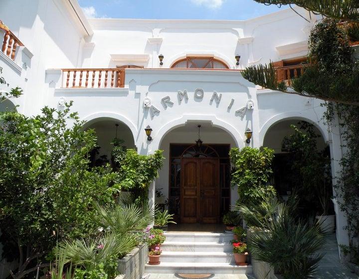 Armonia Hotel in Kamari, Santorini, Greek Islands