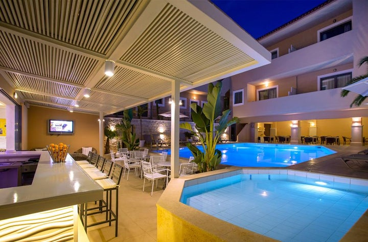 La Stella Apartments and Suites in Rethymnon, Crete, Greek Islands