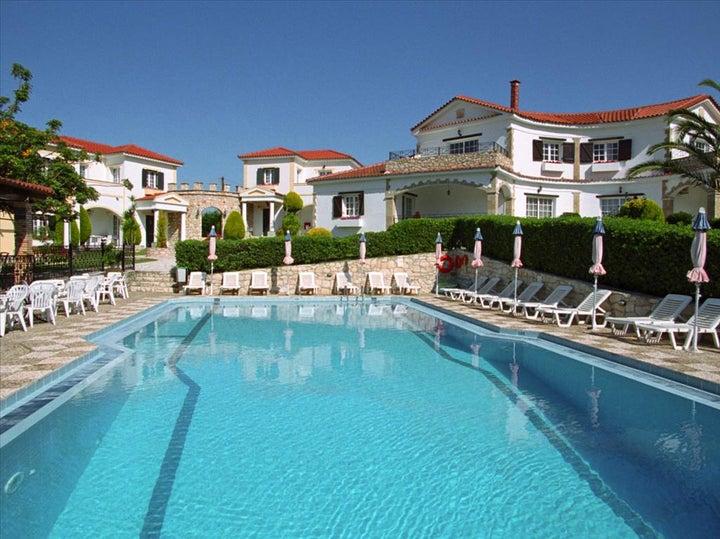 Anagenessis Village Hotel in Kalamaki, Zante, Greek Islands
