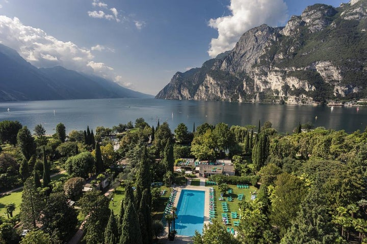 Grand Resort Du Lac Et Du Parc in Riva, Lake Garda, Italy