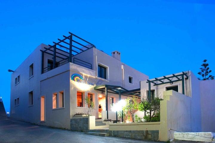 Rainbow Apartments in Chania, Crete, Greek Islands