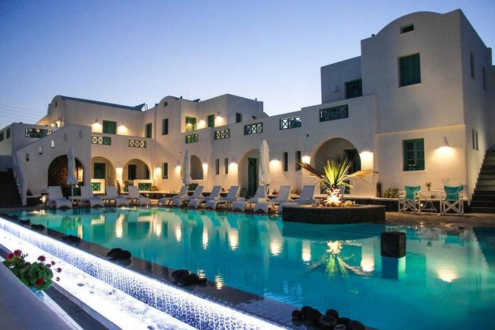 Anastasia Princess Boutique Hotel in Perissa, Santorini, Greek Islands