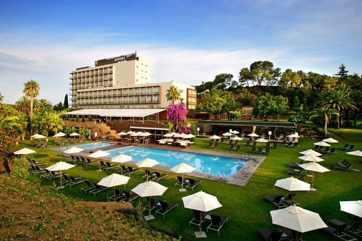 Gran Hotel Monterrey in Lloret de Mar, Costa Brava, Spain