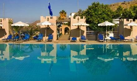 Ilyssion Hotel in Pefkos, Rhodes, Greek Islands