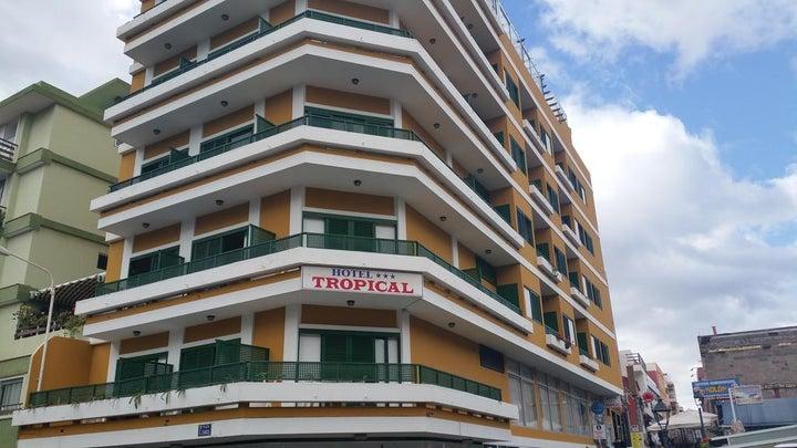 Tropical Hotel in Puerto de la Cruz, Tenerife, Canary Islands