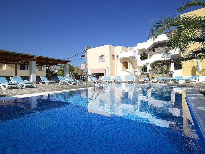 Sissi Bay Hotel in Sissi, Crete, Greek Islands