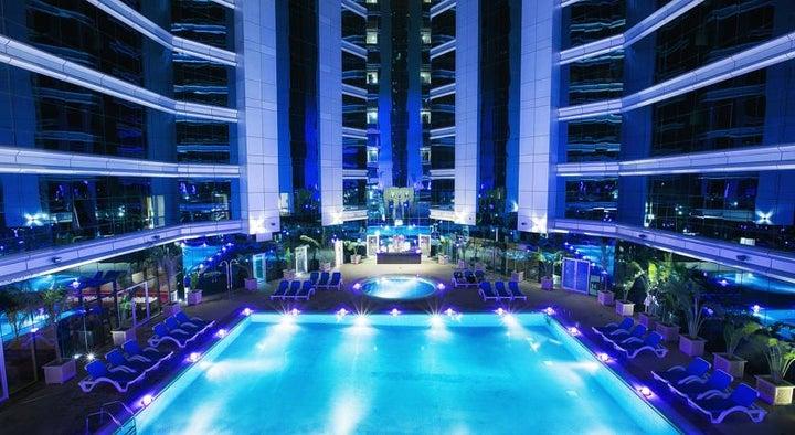 Ghaya Grand Hotel in Dubai City, Dubai, United Arab Emirates
