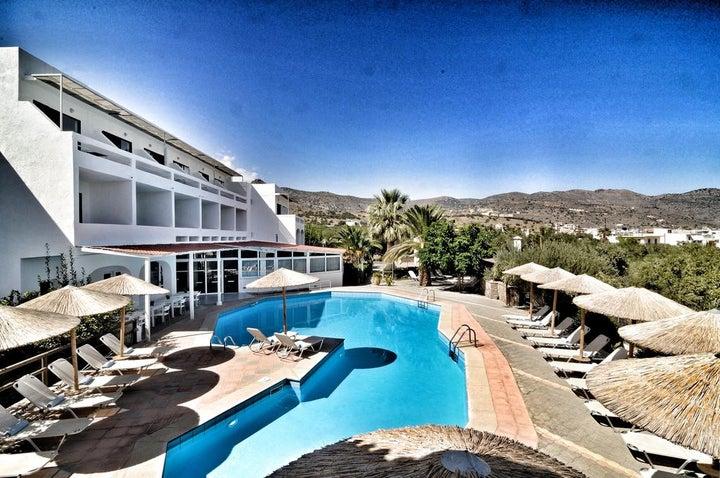 Elounda Krini Hotel in Elounda, Crete, Greek Islands