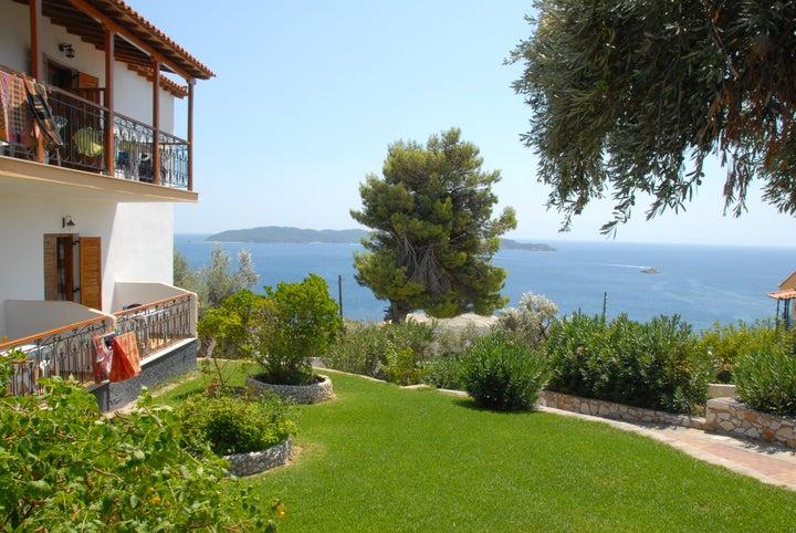 Elenis Village in Achladies, Skiathos, Greek Islands