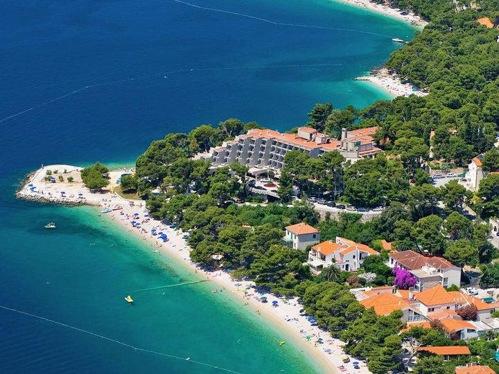 Bluesun Hotel Soline in Brela, Central Dalmatia, Croatia
