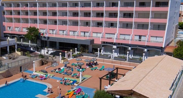 Luna Hotel Da Oura In Albufeira Algarve Portugal