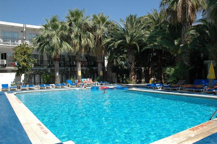 Sami Beach Hotel in Gumbet, Aegean Coast, Turkey