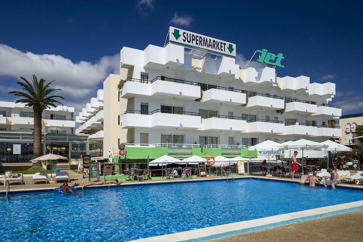 Jet Apartments in Playa d'en Bossa, Ibiza, Balearic Islands