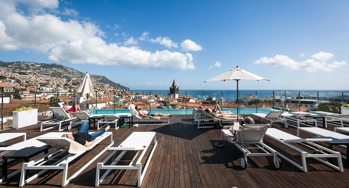 Castanheiro boutique hotel in funchal portugal holidays for Design boutique hotel funchal