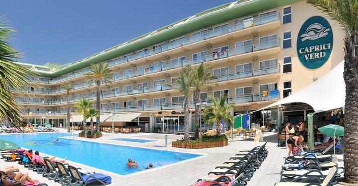 Caprici Verd Hotel in Santa Susanna, Costa Brava, Spain