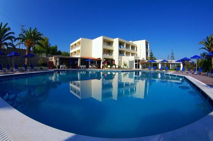 Eleftheria Hotel in Aghia Marina, Crete, Greek Islands