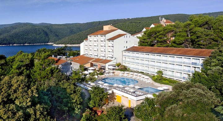 Valamar Hotel Miramar in Rabac, Istrian Riviera, Croatia
