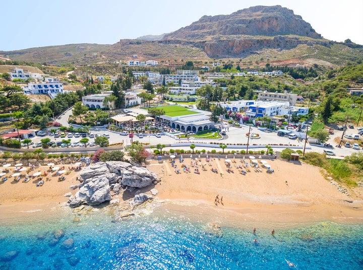 Porto Angeli in Stegna, Rhodes, Greek Islands
