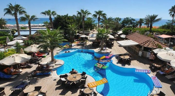 Savk Hotel in Alanya, Antalya, Turkey