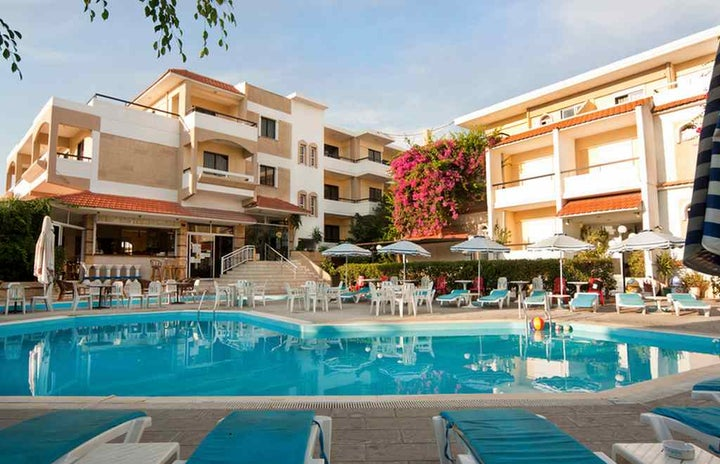 Kassandra Family Aparthotel & Spa in Ialyssos, Rhodes, Greek Islands