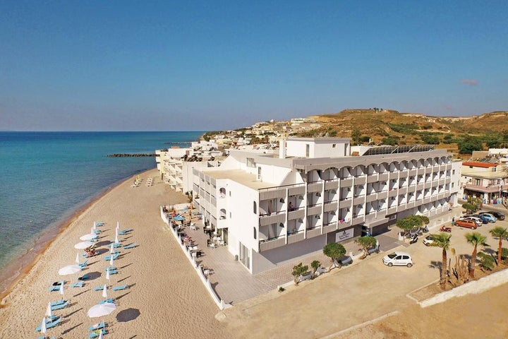 Island Resorts Maya (Ex Valynakis Beach) in Kardamena, Kos, Greek Islands