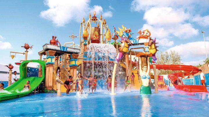 Sol Katmandu Park & Resort in Magaluf, Majorca, Balearic Islands