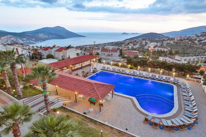Samira Resort Hotel & Apartments in Kalkan, Antalya, Turkey