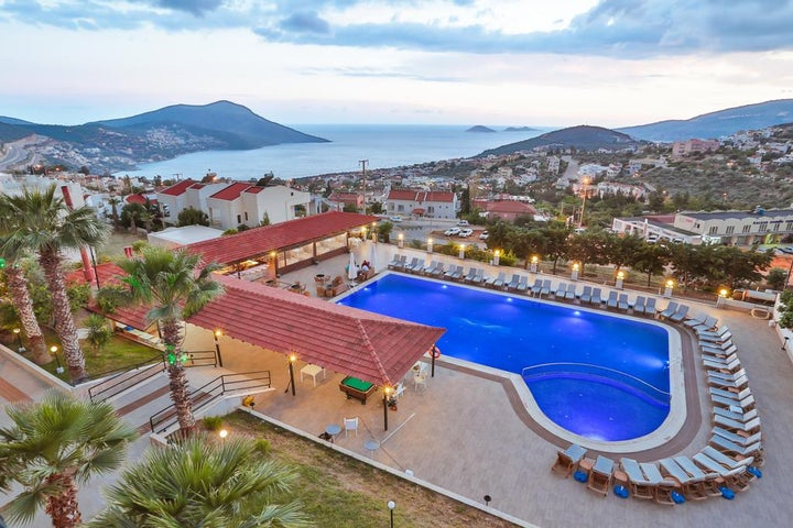 Samira Resort Hotel & Apartments in Kalkan, Antalya, Turkey